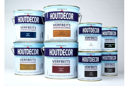 Transparant Hermadix Houtdecor verfbeits 750 ML