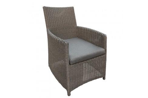Wicker stoel Danburry - donker bruin