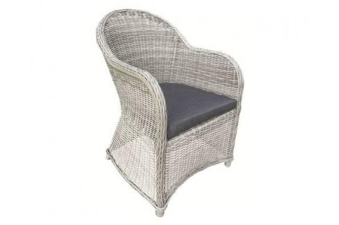 Wicker Luxe stoel Glenwood - grijs gemêleerd