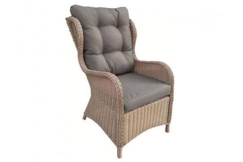 Wicker Relax stoel Laconia- licht bruin