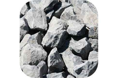 Basalt Split Antraciet 32-56 mm 1000 Kilo